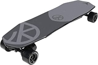 VOKUL V2 Electric Skateboard Longboard | 14 Miles Max Range | 22 MPH Top Speed | 450W Motor | Max Load 264 Lbs | Black 90x52mm PU Wheel | 8 Ply Deck | 10S2P 4.4Ah Lithium Battery