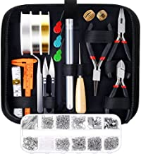 Paxcoo Jewelry Making Supplies Kit with Jewelry Tools, Jewelry Wires and Jewelry Findings for Jewelry Repair and Beading