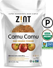 Camu Camu Powder, Natural Vitamin C by Zint: Raw Organic Antioxidant Superfood - Immune Support Booster & Anti Aging - Non...