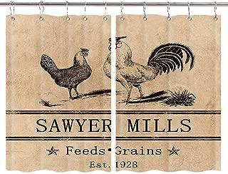 Best farm animal kitchen curtains Reviews