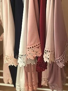 Bridesmaid Gifts, Bridesmaid Robes, Wedding Day Robe, Bride Robe, Personalized Robes, Bridal Party Gift, Bridesmaid Robe, Satin Robe, Bridal Party Robes, Kimono, Lace Satin Robes