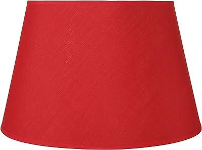 Sema 97211 Abat-jour rond Etroit MM Rouge, Texture