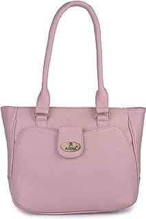 Aisna Women's Kate Handbag (ASN-166)(Pink)