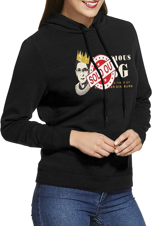 Dudkc Notorious Rbg Womens New color Sweatshi Cheap sale Breathable Hoodie Sweatshirt