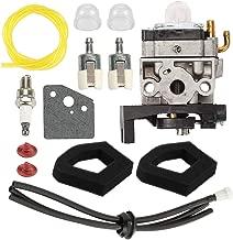 Hayskill HHT35 GX35 Carburetor for Honda GX35NT Engine HHT35S String Trimmer Replace 16100-Z0Z-815 WYB-16C 16100-Z0Z-034 Carb w Air Filter Fuel Primer Bulb