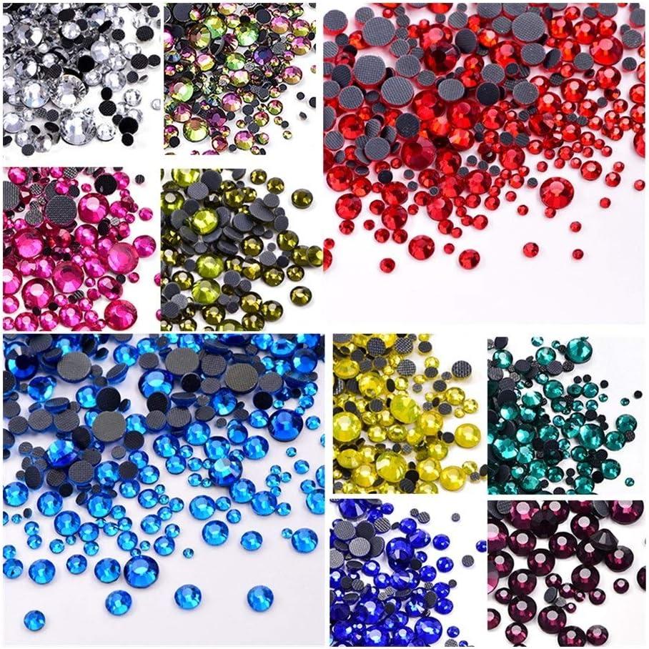 XXWW CXWHYPD Multi-Color Thermosetting Max 57% OFF Iron Rhineston Rhinestone Dallas Mall