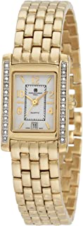 Charles-Hubert, Paris Women's 6756-G Classic Collection Gold-Plated Watch