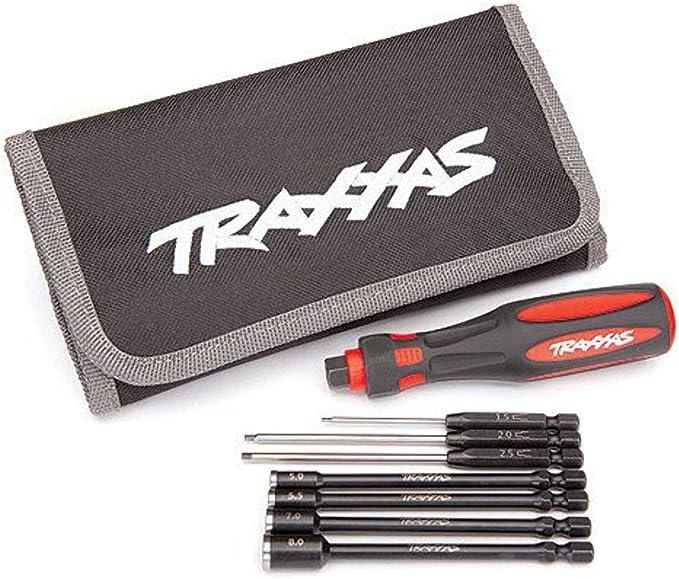 TRAXXAS 8711 Speed BIT Master Set de 7 piezas recto y extremo de bola
