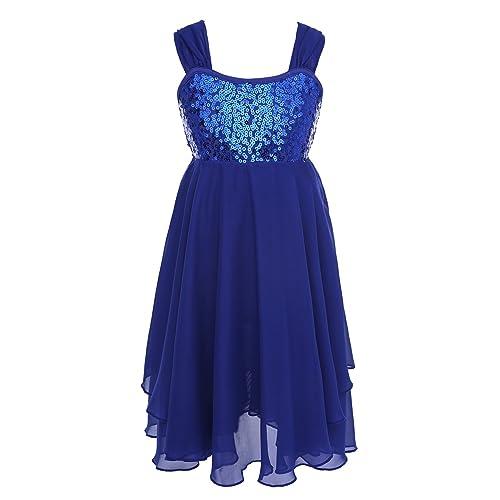 e953986e0 iiniim Children Girl's Sequins Ballet Dance Tutu Dress Skirt Kids Latin  Ballroom Leotard Dance Costume Lyrical