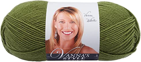 Lion Brand Yarn 867-174 Vanna's Style, Olive