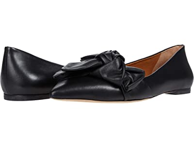Tory Burch 5 mm Bow Flat (Perfect Black) Women
