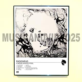 Radiohead Framed Poster A Moon Shaped Pool Album Rare Promo Thom Yorke (Unframed - Print Only)