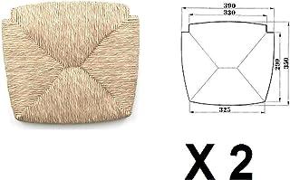 Recambio de asiento, para sillas de paja, 2 unidades, mod. 1212 Venezia -