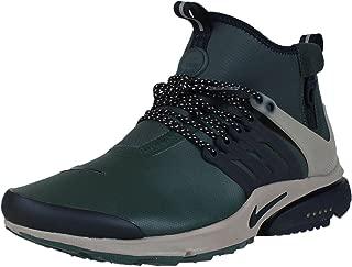 Air Presto Mid Utility Men's Shoes Grove Green/Black/Khaki 859524-300 (12 D(M) US)
