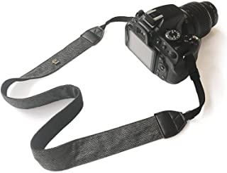 Bestele Pasek do paska na ramię na kamerę, miękkie paski do kamery z nadrukiem vintage do DSLR/SLR/Nikon/Canon/Sony/Lumix/...