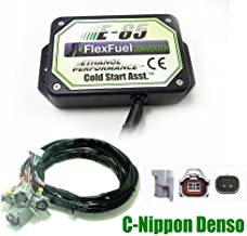 Pomiacam 4 Cylinder E85 Conversion Kit Flex Fuel Ethanol Alternative Fuel with Cold Start Asst, Biofuel E85, Ethanol Car, Bioethanol Converter (C-Nippon Denso)