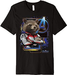 Avengers Endgame Rocket Logo Premium T-Shirt