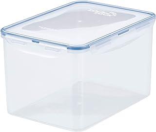 LocknLock HPL827 Food Container, Clear Blue, W 9.3 x H 6.6 x D 5.9 cm, 4.5 Liter, Rectangular, Polypropylene