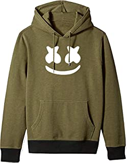 ALMEDA Unisex Printed Cotton Hooded Hoodie