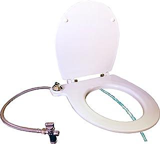 TAPIDET: TAPA WC + BIDET CON CHORRO DE AGUA. Fijación al inodoro ADAPTABLE