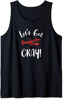 Let's Get Cray Funny Crawfish Louisiana Tank Top