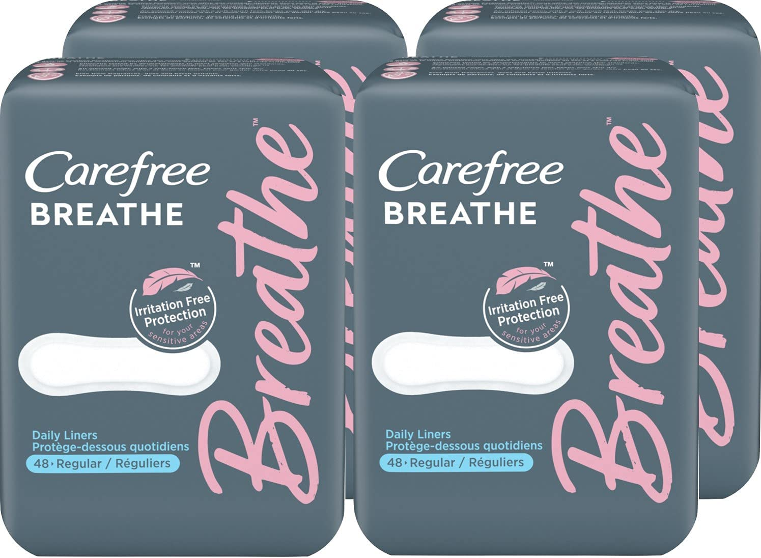Carefree Max 59% OFF Breathe Panty online shop Liners Indiv Irritation-Free Protection