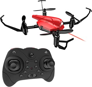 Mini Drone, DEERC HS177 RC Quadcopter Battle Drone for Kids and Beginners RTF 4 Channel 2.4GHz 6-Axis Gyro with Altitude Hold, Headless Mode, 3D Flip
