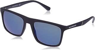 Emporio Armani EA 4097 BLUE/BLUE men Sunglasses