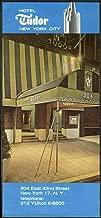 Hotel Tudor New York City advertising folder 1950s 304 E 42nd St