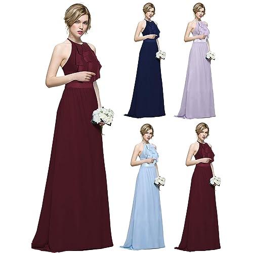 af3f0c6cfc904 Halter Neck Bridesmaid Dresses: Amazon.co.uk