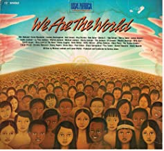 We Are the World - Written By Michael Jackson and Lionel Richie, Produced By Quincy Jones (Vinyl 12'' Record)