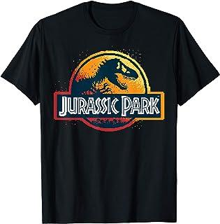Jurassic Park Pixel Art Logo T-Shirt