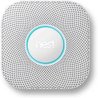 Google Nest bescherming: Rook- en koolmonoxide van de 2e generatie (bekabeld)