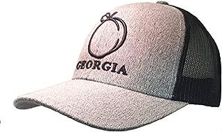 Georgia Peach Embroidered Trucker Hat