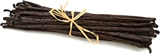 Madagascar Vanilla Beans. Whole Grade A Vanilla Pods for Vanilla Extract and Baking (10 Beans)