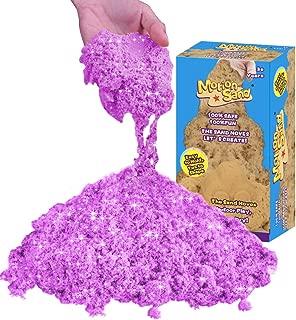 Motion Sand - 1.76lb Glitter&Shimmering Refill Pack Play Sand,Sand Toy for Kids- Violet