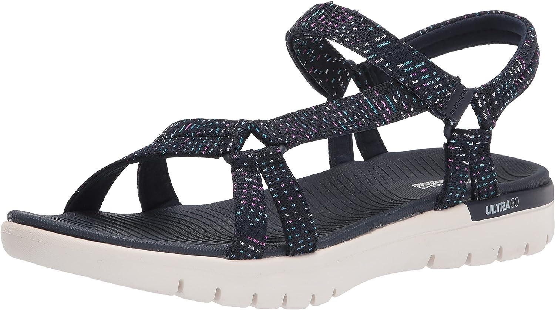 Skechers Women's Popular brand On-The-go Sale item Flex Sport Strap Multi-Colored Sandal