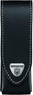 Victorinox Leather Belt Pouch for Swiss Army Pocket Knife, Black