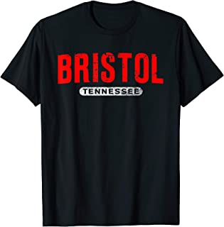 BRISTOL TN TENNESSEE Funny USA City Roots Vintage Gift T-Shirt