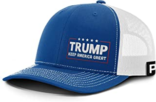 Printed Kicks Trump Keep America Great KAG Lower Left Hat with Mesh Back
