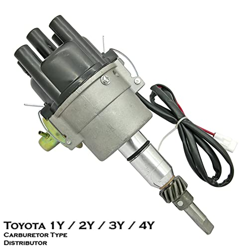 Electronic Carburetor Ignition Distributor Fit For Toyota 1Y 2Y 3Y 4Y Hilux HiAce Crown Dyna 4Runner