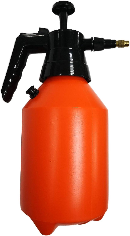 Polyte - Pulverizador a presión - Uso con una Mano - para césped, jardín y Control de plagas - Naranja - 1,5l