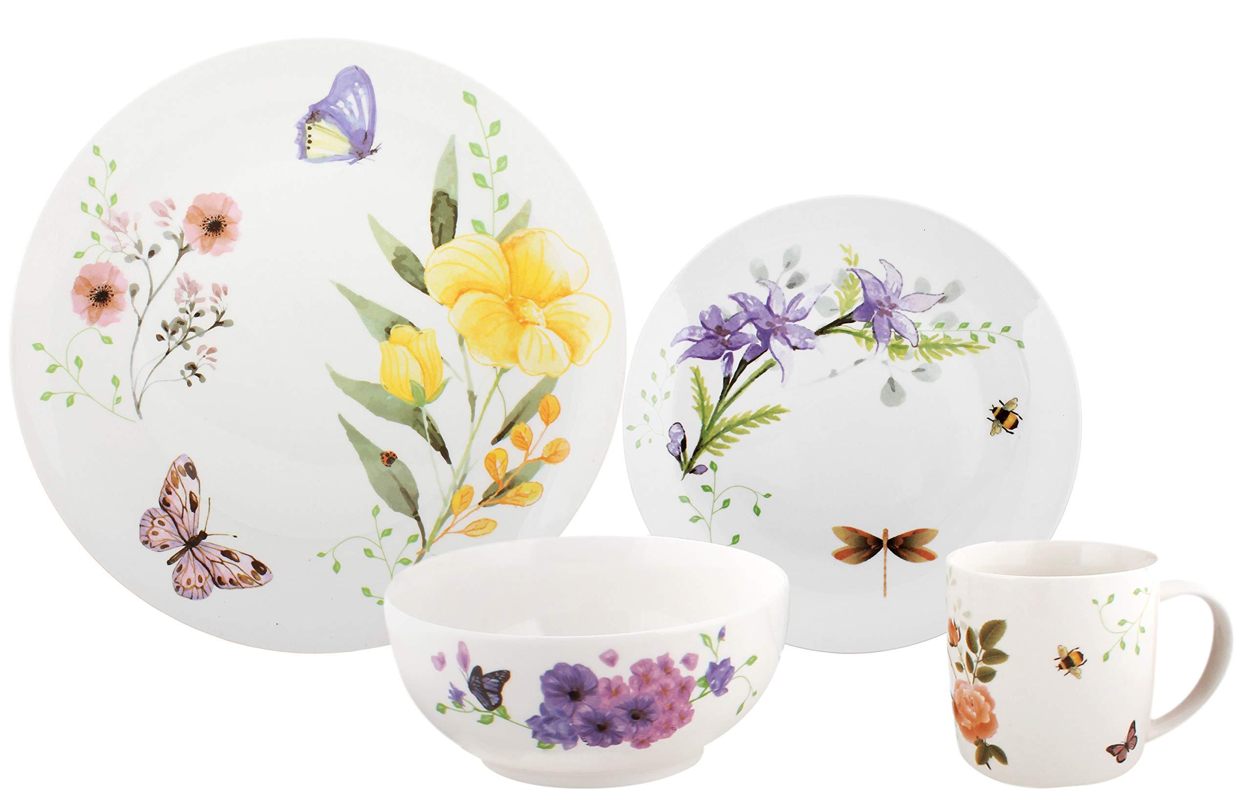 Melange Porcelain Dinnerware Collection Dishwasher