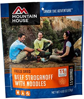 Best mountain house freeze dried beef stroganoff with noodles Reviews