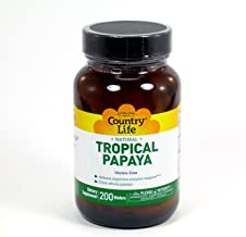 Best papaya digestive support country life Reviews