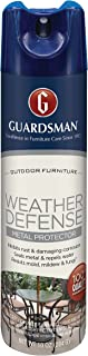 Guardsman Weather Defense Outdoor Metal Protector - 10 oz - Inhibits Rust and Water Stains - 461900
