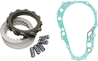 Tusk Heavy Duty Clutch Kit with Springs and Clutch Cover Gasket - Fits: Honda CRF450R 2002–2008