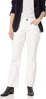 Women's White Denim Boot Cut Jean