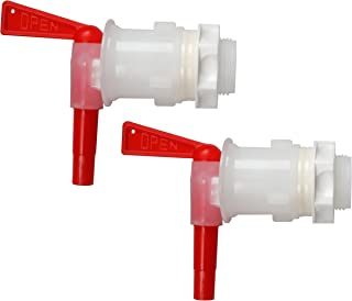 Bottling Spigot,MRbrew Filler Spout Bucket Tap for Bucket Homebrew Wine Making Beer (Red)