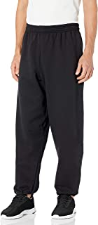 Hanes Men's Ecosmart Fleece Sweatpant, Black, L